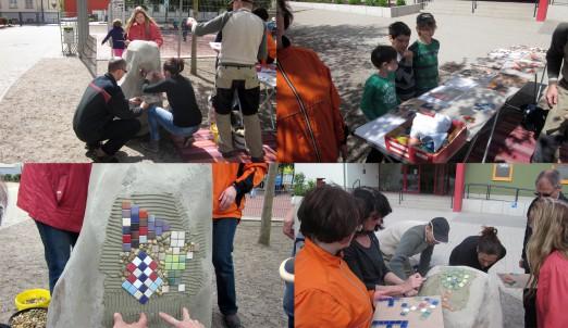 Mosaikfindling 2014